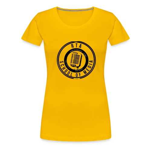 RTA School of Media Classic Look - Women's Premium T-Shirt