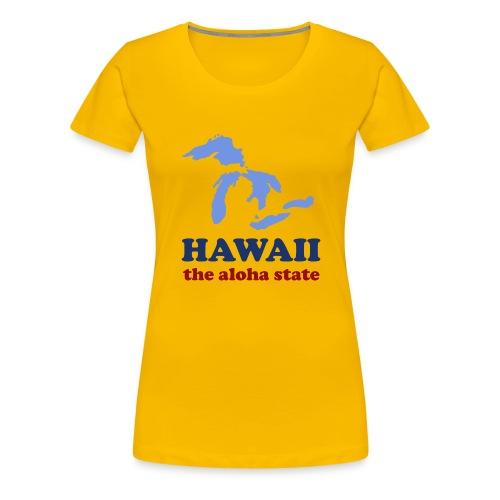Geographically Impaired - Women's Premium T-Shirt