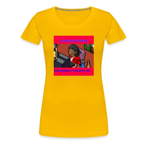 The firts Dandier Rhino Merchandise - Women's Premium T-Shirt