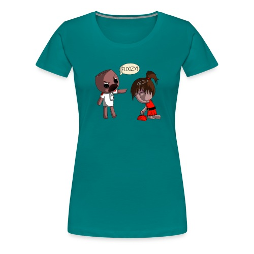 floozy1 png - Women's Premium T-Shirt