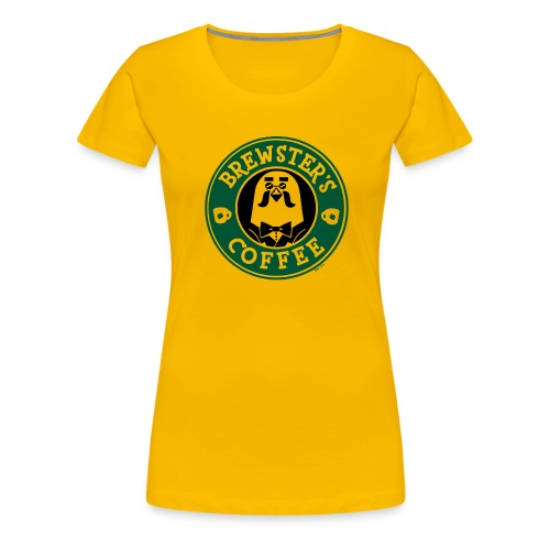 Brewster's Coffee - Women's Premium T-Shirt