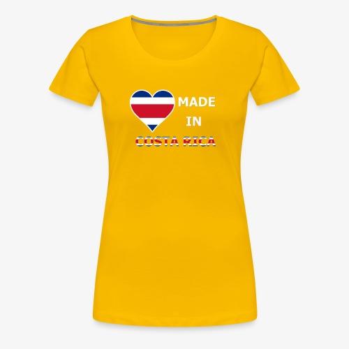 Costa Rica 2 - Women's Premium T-Shirt