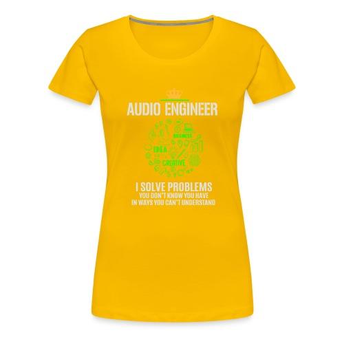 AUDIO ENGINEER - Women's Premium T-Shirt