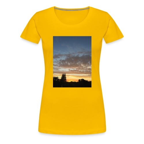 nuclear sunset - Women's Premium T-Shirt
