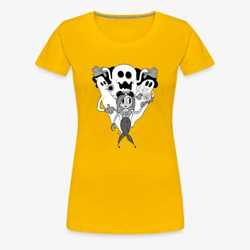 Samantics- Not Haunted - Women's Premium T-Shirt