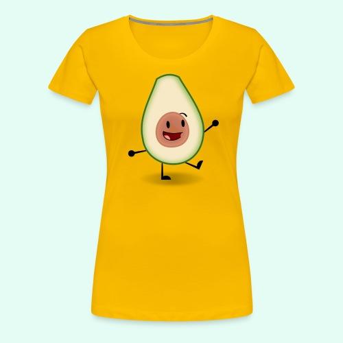 Happy Avocado - Women's Premium T-Shirt