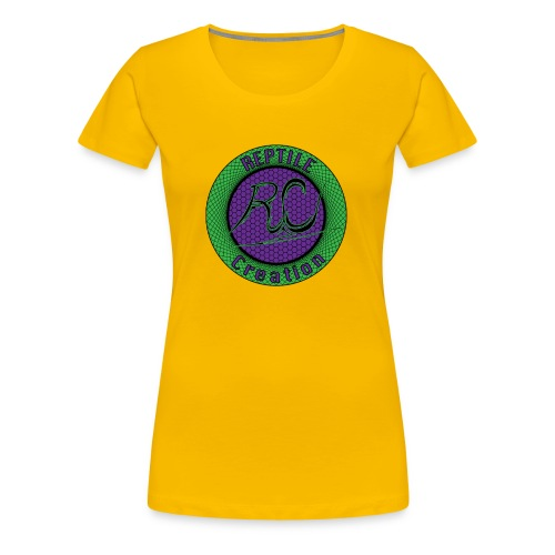 Reptile Creation Logo - Women's Premium T-Shirt