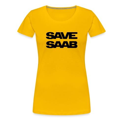 Saab logo products - Women's Premium T-Shirt