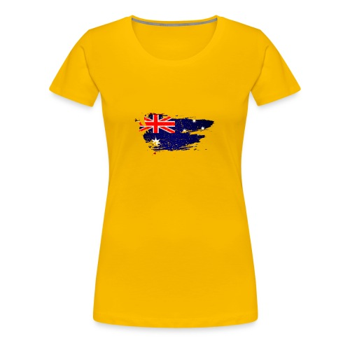 Australian Flag - Women's Premium T-Shirt