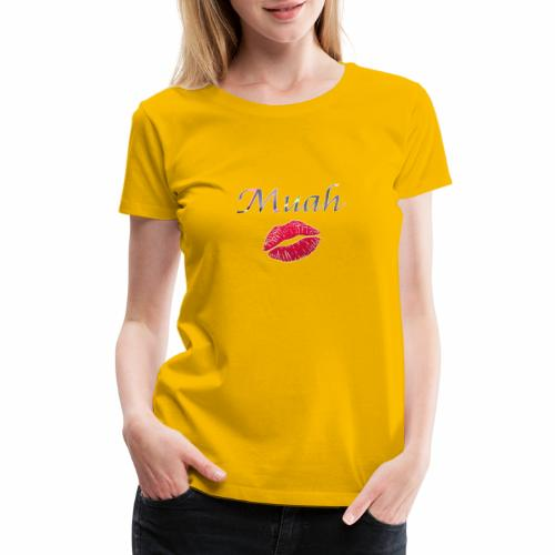 Washam Warriors 💋Muah - Women's Premium T-Shirt