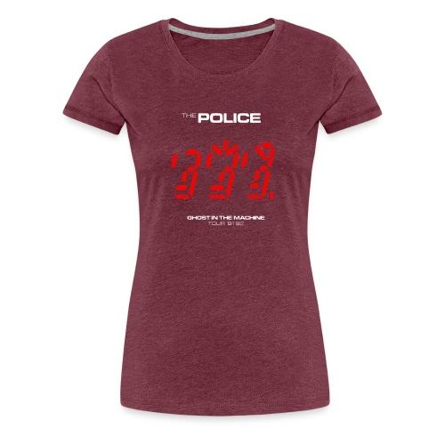 Ghost in the Machine - Women's Premium T-Shirt