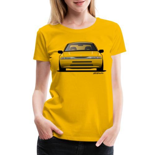 subaru_svx_sticker_clear - Women's Premium T-Shirt