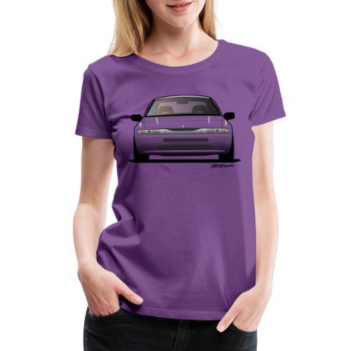 Subaru Alcyone SVX Modern JDM Icon Sticker - Women's Premium T-Shirt