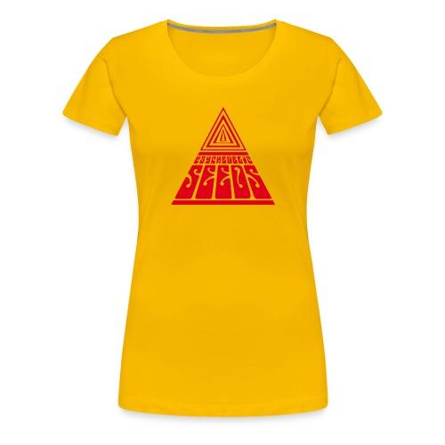the seeds band logo - Women's Premium T-Shirt