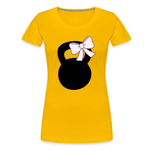 Kettlebow - Women's Premium T-Shirt