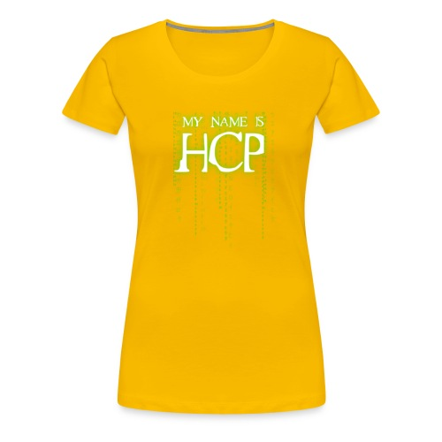 SAP HCP NEO - Jam Band 2016 Barcelona Edition - Women's Premium T-Shirt