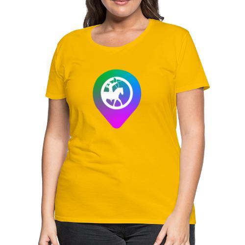 KC2Go Map Point - Women's Premium T-Shirt