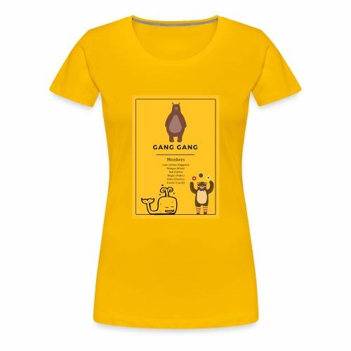 Gang Gang - Women's Premium T-Shirt