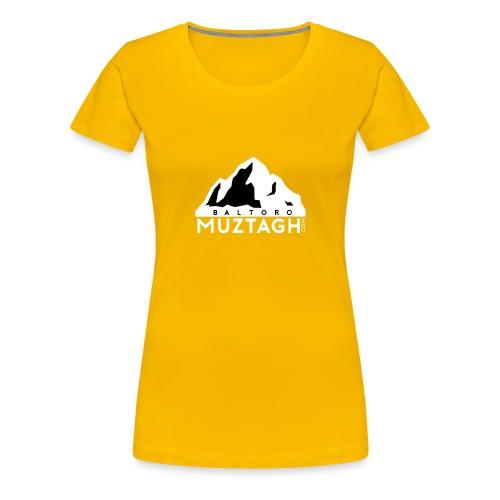 Baltoro_Muztagh_White - Women's Premium T-Shirt