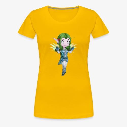WoW Priest - Women's Premium T-Shirt