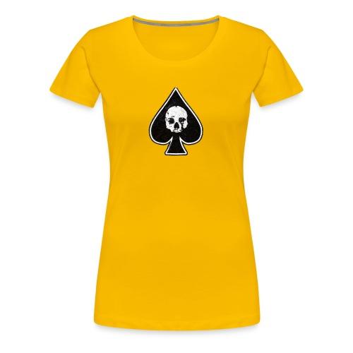 Ace of Spades skull rock - Women's Premium T-Shirt