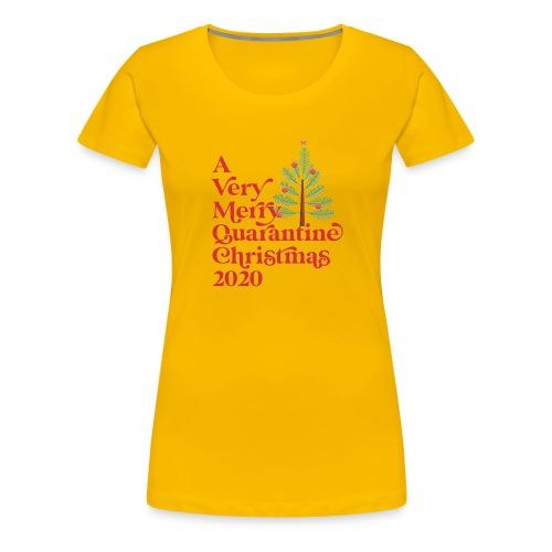 Quarantine Christmas - Women's Premium T-Shirt