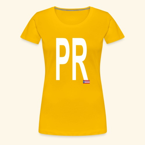 PRbyHaryCornier2 - Women's Premium T-Shirt