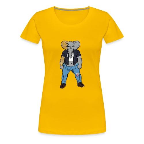 Dumbo Fell in the Wrong Crowd - Women's Premium T-Shirt
