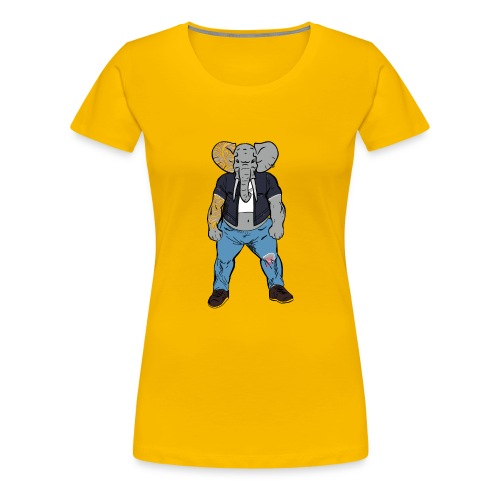 Dumbo Fell in the Wrong Crowd - Women's Premium T-Shirt