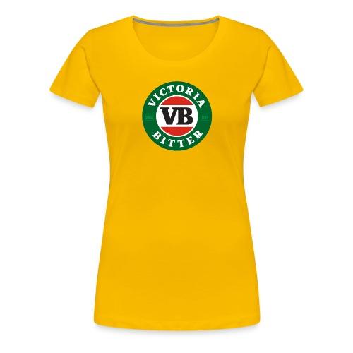 Victoria Bitter Beer - Women's Premium T-Shirt