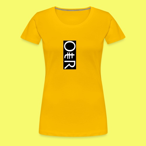 OntheReal ladylike - Women's Premium T-Shirt