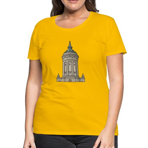 Mannheim water tower - Women's Premium T-Shirt