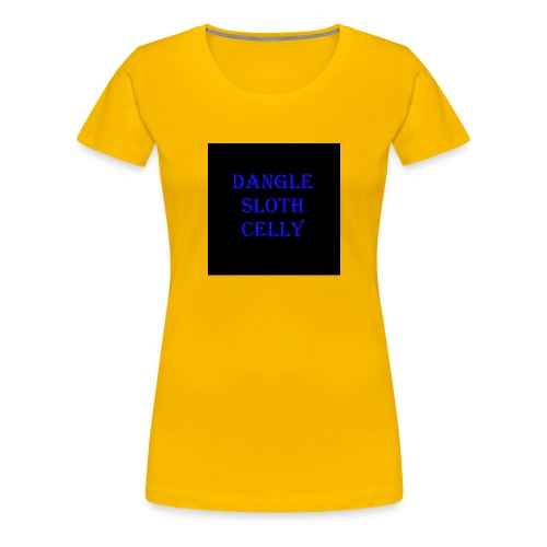 danglesloth - Women's Premium T-Shirt