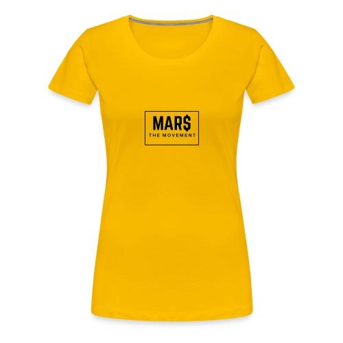 MAR$ Orginal White T-Shirt - Women's Premium T-Shirt