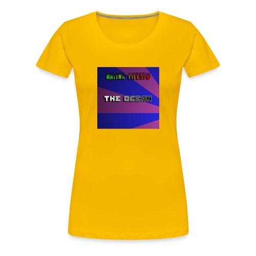 The Ocean Cover - Women's Premium T-Shirt
