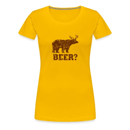 Macs Bear - Women's Premium T-Shirt