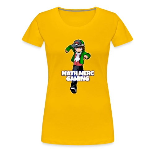 Math Merc Gaming - Women's Premium T-Shirt