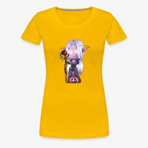 Night Elf Shaman - Women's Premium T-Shirt