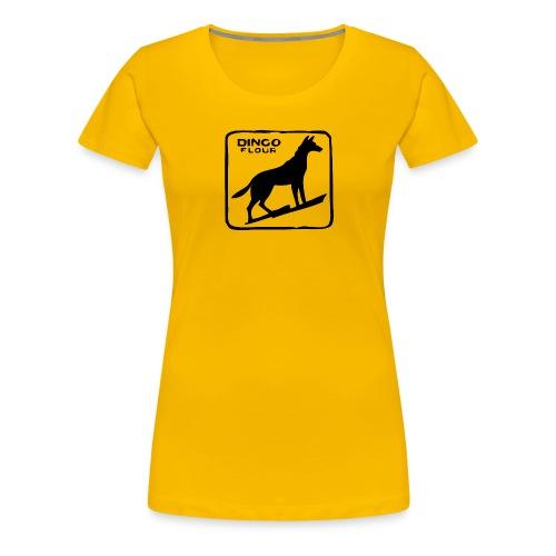 Dingo Flour - Women's Premium T-Shirt