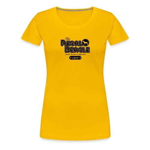 The Regal Beagle Three S Company - Women's Premium T-Shirt