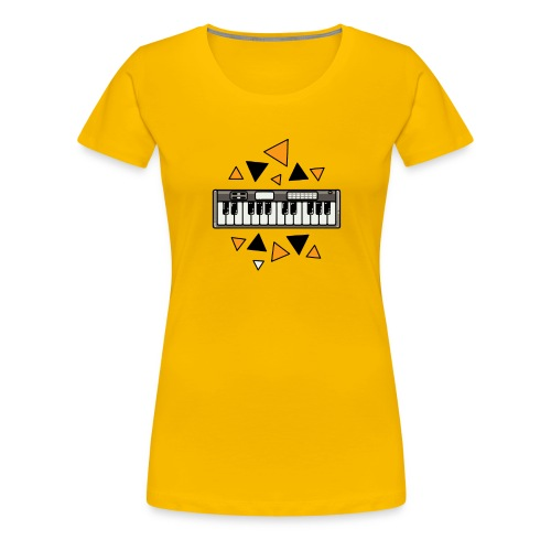 keyboard tone - Women's Premium T-Shirt
