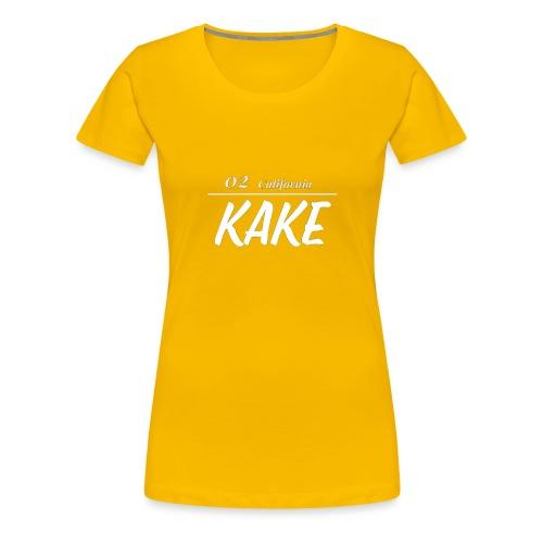 02 California KaKe - Women's Premium T-Shirt