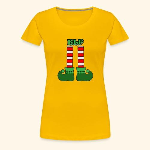 Elf Legs Funny - Women's Premium T-Shirt