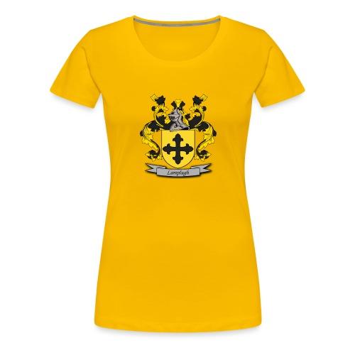 Lamplugh Family Crest - Women's Premium T-Shirt