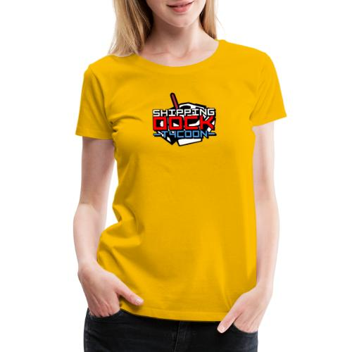 Vintage - Shipping Dock Tycoon - Women's Premium T-Shirt