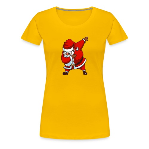 Dabbing Santa - Women's Premium T-Shirt