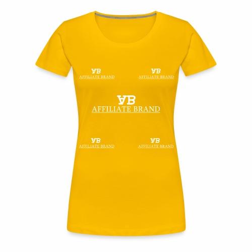 Logo 5th Degree - Women's Premium T-Shirt
