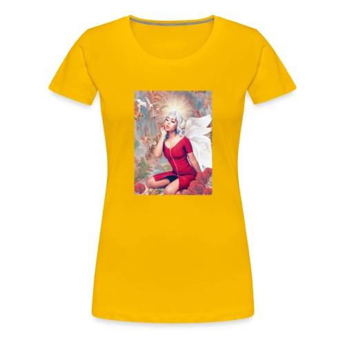 𝔇𝔞𝔫𝔱𝔢𝔰 𝔦𝔫𝔣𝔢𝔯𝔫𝔬 🥀 - Women's Premium T-Shirt