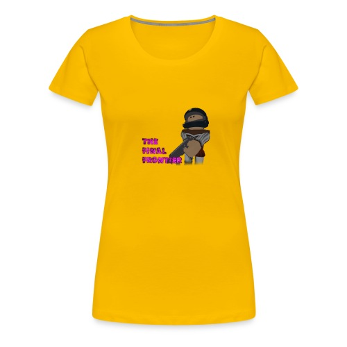 The Final Frontier Sports Items - Women's Premium T-Shirt