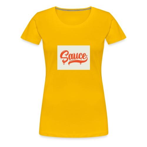 saucey brand - Women's Premium T-Shirt